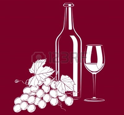 14073882-illustration-of-vintage-still-life-with-a-glass-a-bottle-of-wine-and-grapes
